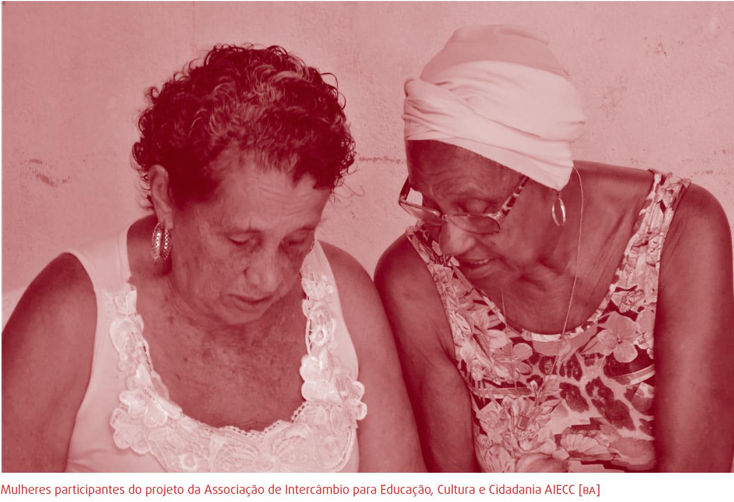 """Associação de Intercâmbio para Educação, Cultura e Cidadania AIECC (BA) - """"O poder feminino"""""""
